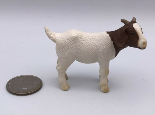 Schleich BOER GOAT KID Baby Farm Animal 13260 Retired 2001