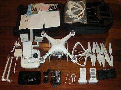 DJI Phantom 3 Standard Quadcopter Drone W/Extras