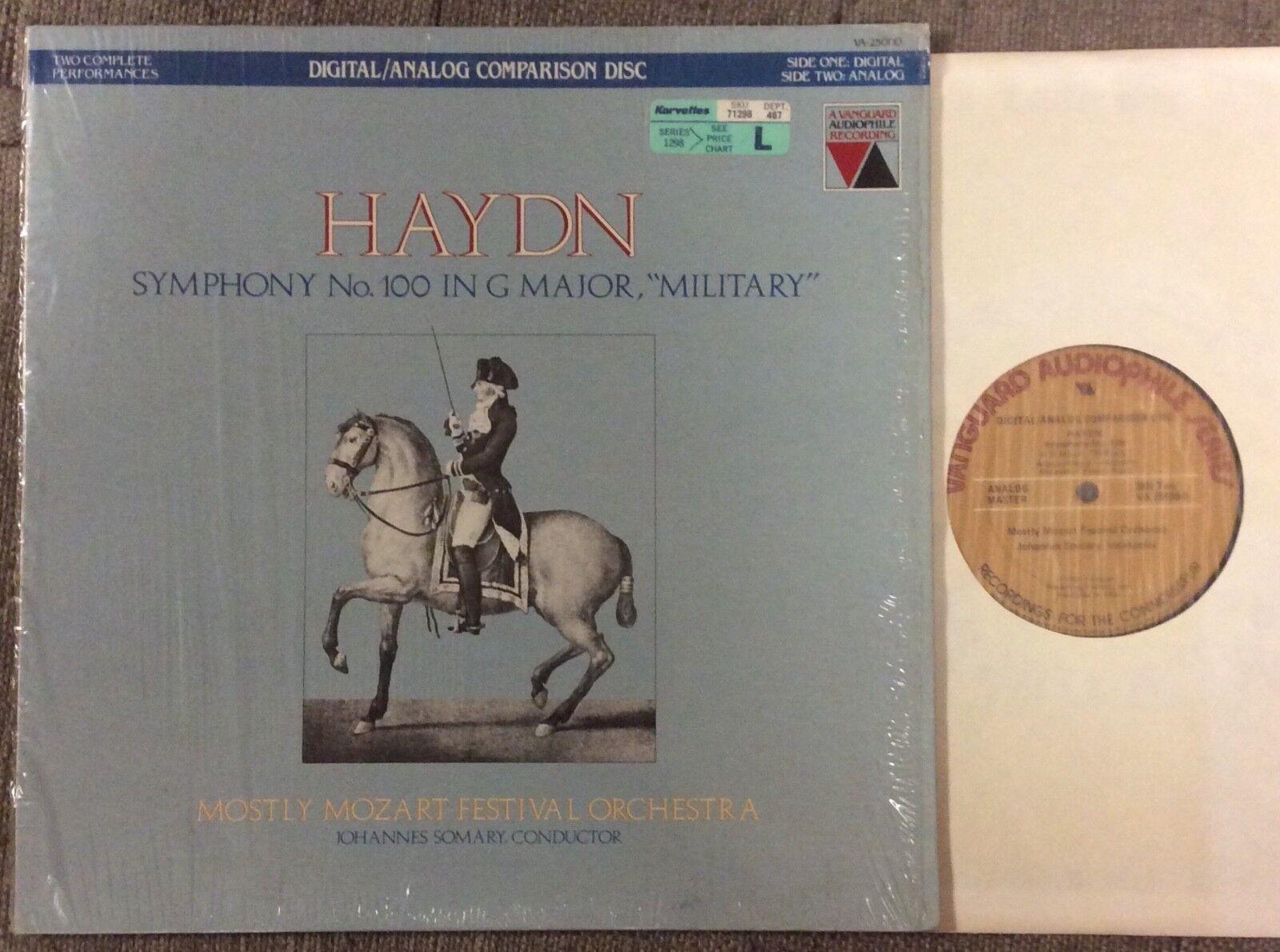 Haydn Symphony No.100, Military , Vanguard Audiophile Recording, Digital/Analog - $5.99