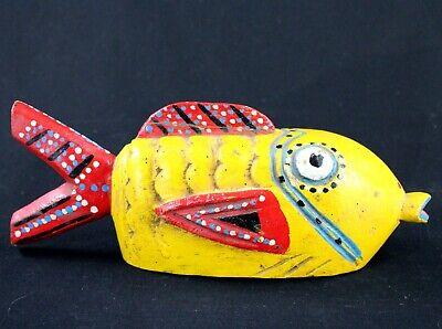 Art African Tribal Ethnographic - Puppet Fish Bozo Fish - 28 CMS