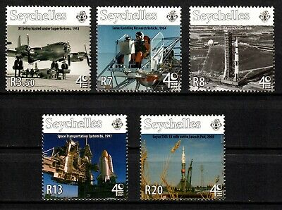 Seychelles stamps 2009 MNH set Space