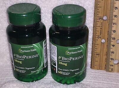 TWO, Bioperine (Black Pepper Extract) Non-GMO / Vegetarian; 120 capsules (total)