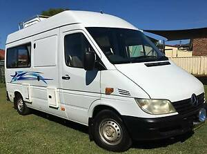 2003 Mercedes Sprinter Motorhome Grafton Clarence Valley Preview