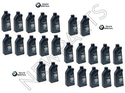 24 Quarts OEM Genuine BMW High Performance 5w30 Synthetic Engine Motor Oil