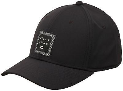 Billabong Tech Stretch Hat - Black - New Billabong Black Hat