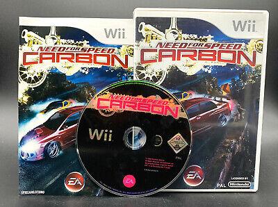 Spiel: NEED FOR SPEED CARBON Rennspiel für Nintendo Wii + WiiU