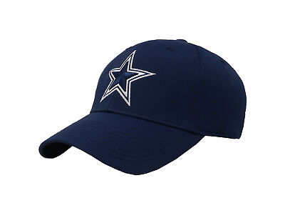 REEBOK NFL Dallas Cowboys Basic Tactel Navy White Flex Fit Cap Adult Men Hat Tactel Flex-cap
