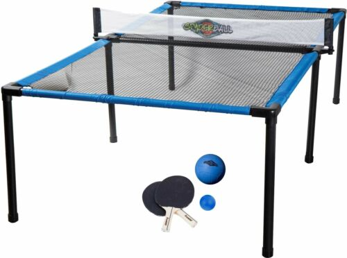 Portable Spyder Ping Pong Table Tennis Set Indoor Outdoor Game