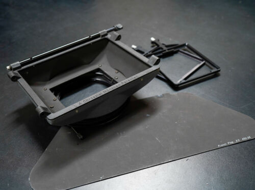 Chrosziel Sunshade 4:3 411-52 Matte Box With French Flag and Filter Holders