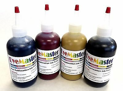 Dyemaster Sublimation Ink Cmyk Combo Pack 8 Oz. 240ml X 4 Bottles