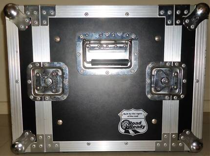 8U Rack case manufactured by Road Ready