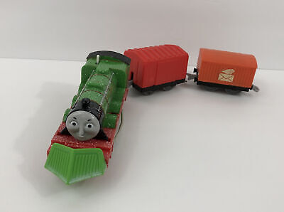 Motorized Trackmaster Thomas & Friends Train Tank Snow Clearing Henry Plow Works