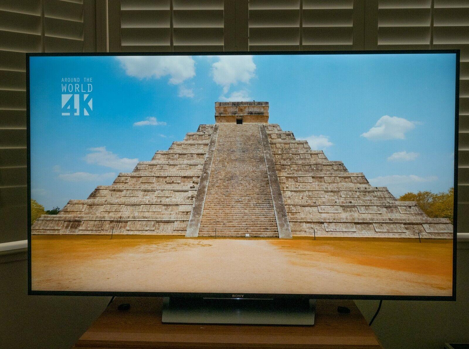 Sony XBR-65X850D 65-Inch 4K HDR Ultra HD Smart LED TV