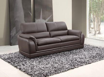 Houston Leather Lounge 3 + 2 Seaters
