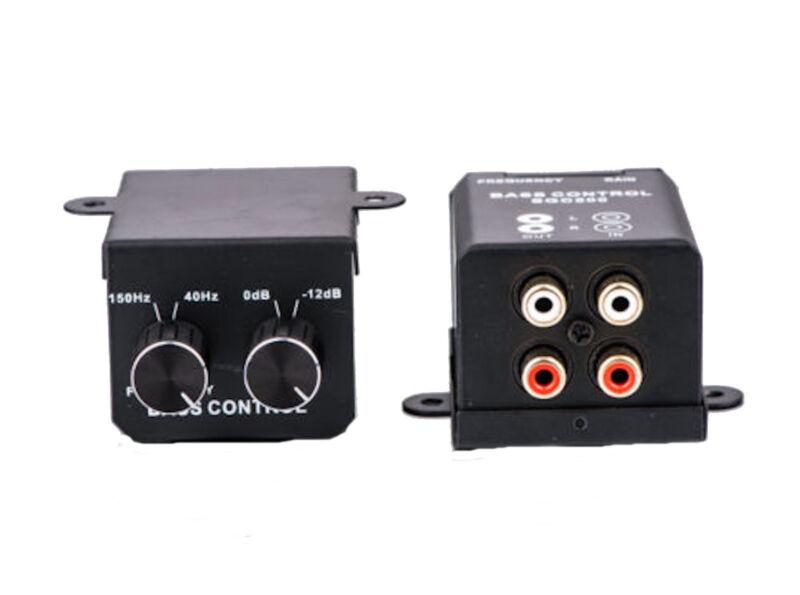 Universal Car Home Amplifier Bass Controller RCA Gain Level Volume Control Knob