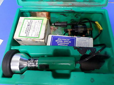 Spectroline Ultraviolet Leak Detector Lamp Fl-10012 Jch