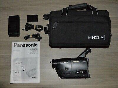Panasonic NV-RX11 VHS-C Movie Camera Camcorder with Camerabag