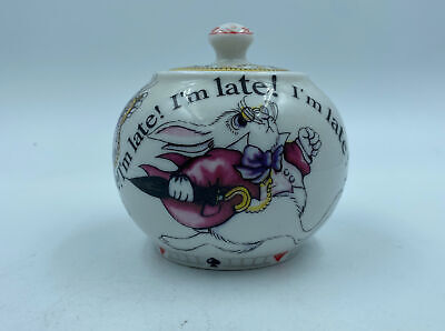 PAUL CARDEW ALICE IN WONDERLAND MAD HATTER'S TEA PARTY COVERED BOWL