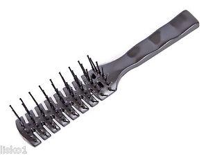 Scalpmaster original Vent hair Brush 7-Row plastic ball tip bristle