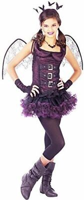 Make Bat Costume Halloween (BRAND NEW Wicked Night Wing Bat Teen HALLOWEEN Costume SZ CHILD)