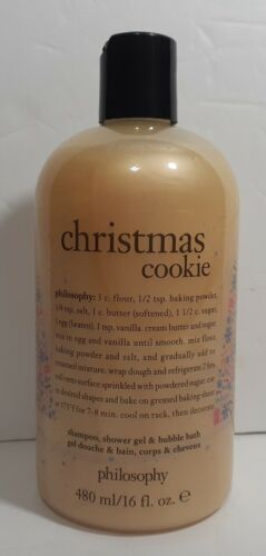 Philosophy Christmas Cookie Shampoo Shower Gel Bubble Bath 1