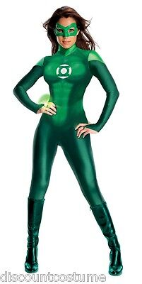 SECRET WISHES OFFICIAL LICENSED GREEN LANTERN WOMEN'S SIZE MEDIUM COSTUME (3 Wishes Costumes)