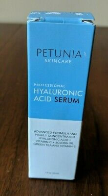 Best Hyaluronic Acid Serum with Vitamin C For Face Deeply Hydrate and Plump