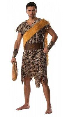 Protector Caveman Adult Men's Costume Cave Dweller Barbarian Faux Fur Stone Age](Stone Age Cavemen)