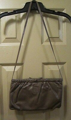 VINTAGE ANNE KLEIN FOR CAULDRON BROWN SHOULDER BAG PURSE, MAGNETIC CLOSURE, GPOC (Cauldron Handbag)