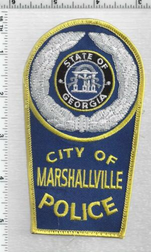 Marshallville Police (Georgia) 3rd Issue Shoulder Patch