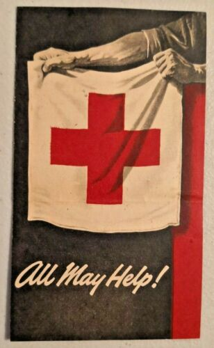 Vintage 1950 Red Cross Service Highlights Rare