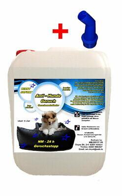5 L. Geruchsvernichter Hundeurin Geruchsentferner Katzenurin  PE 5 € / 1