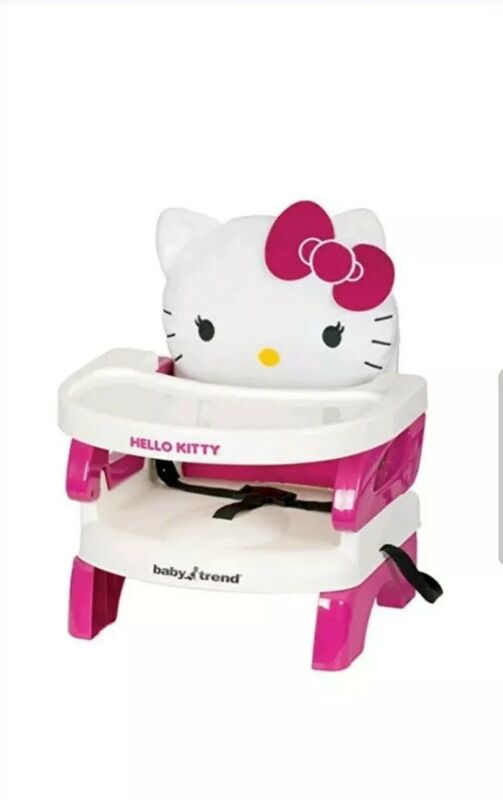 Baby Trend Portable High Chair Easyseat Toddler Booster Hello Kitty New!
