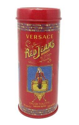 Versace Red Jeans Eau de Toilette 75ml Spray Women - New