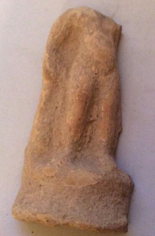 Ancient Greek  Pottery Torso Fragment—300 BC