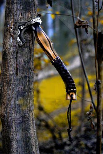 CUSTOM HANDMADE  CARBON STEEL  VIKING HATCHET TOMAHAWK HUNTING AXE