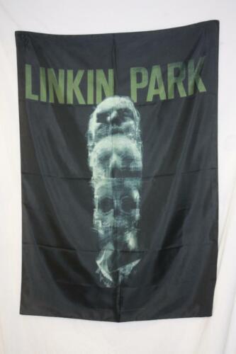 "Linkin Park Skull Totem Fabric Poster Flag 30x40"""