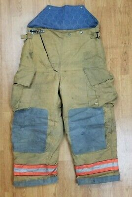 Globe Firefighter Bunker Turnout Pants 38 X 28