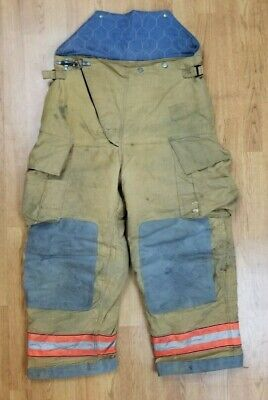 Globe Firefighter Bunker Turnout Pants 38 X 28