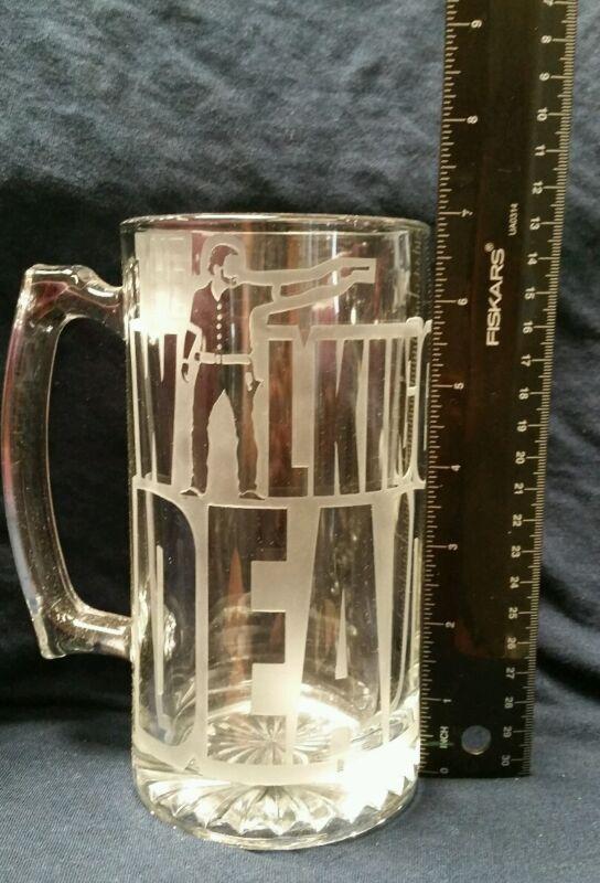 Walking dead beer mug