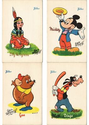 WALT DISNEY PETER PAN with TOBLER ADVERTISEMENT 33 Vintage Postcards (L3050)