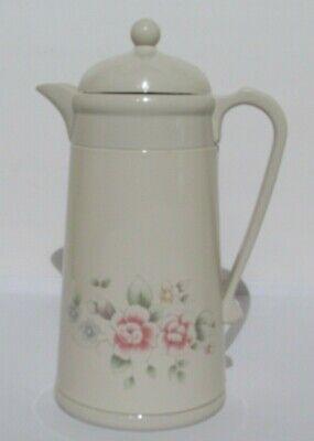 Pfaltzgraff Tea Rose  Hot/Cold Insulated Carafe