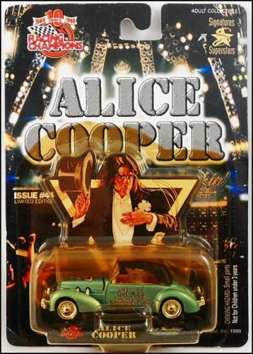 Alice Cooper Welcome To My Nightmare 37 Cord Coupe Die Cast Racing Champions Car