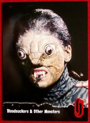 HAMMER HORROR - Series One - Card #50 - THE REPTILE