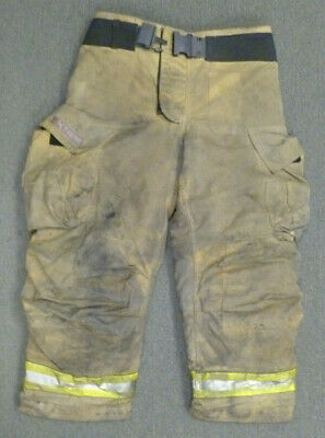 36x30 Globe G-xtreme Tan Firefighter Pants Turnout Bunker Fire Gear P050