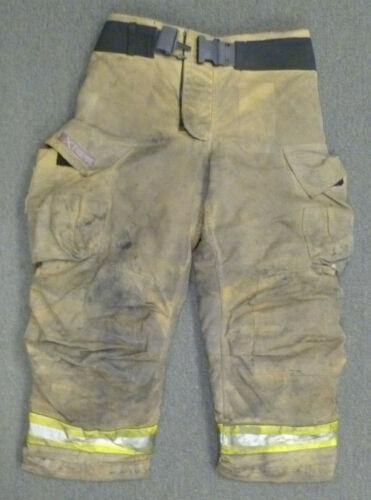 36x30 Globe G-Xtreme Tan Firefighter Pants Turnout Bunker Fire Gear P050