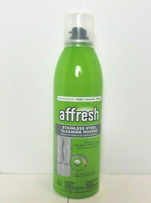 NEW~AFFRESH WHIRLPOOL MAYTAG + STAINLESS STEEL~NO DRIP~ CLEANING MOUSSE