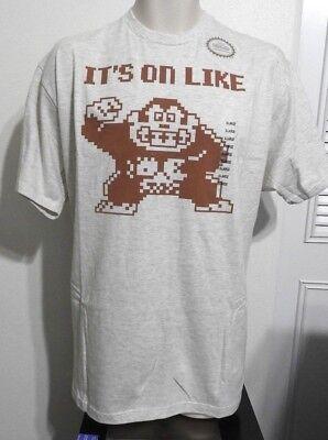 IT'S ON LIKE DONKEY KONG Nintendo T-SHIRT Men's TEE Size XL XXL NEW W/TAGS! Its On Like Donkey Kong T-shirt
