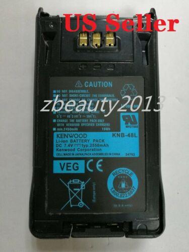 Kenwood OEM KNB-48L 7.4v 2550mAh battery for NX-200 NX-300, P25 TK5220 US SELLER
