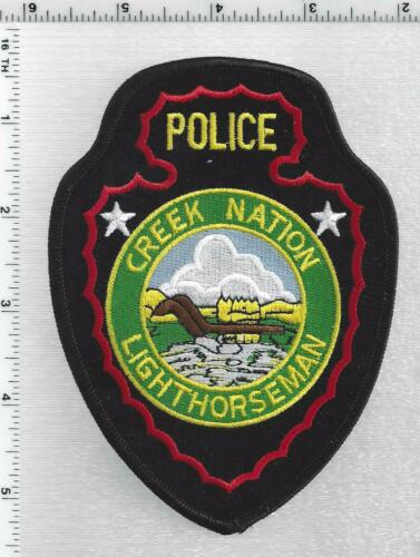 Creek Nation Lighthorseman Police (Oklahoma) 2nd Issue Shoulder Patch